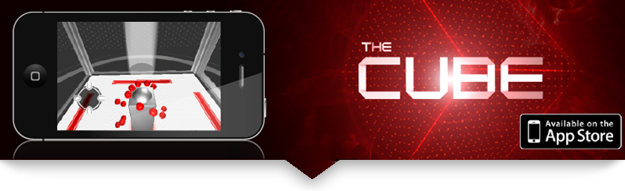 The Cube Banner